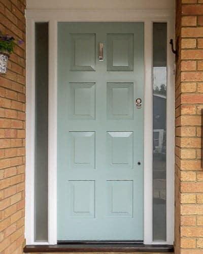 8 Panel front door