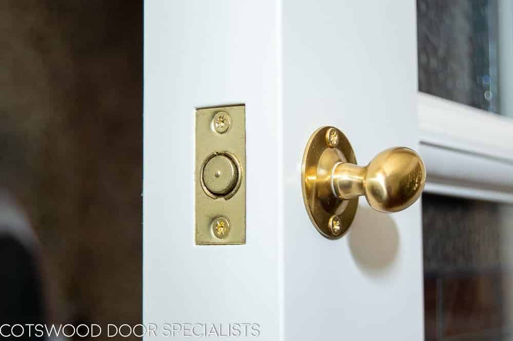 extra security to Edwardian front door