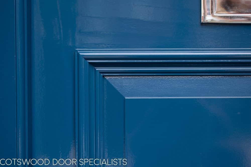 Victorian front door panel details