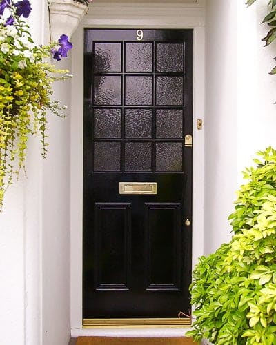 finest selection cce95 8877d Georgian 12 light door with obscure glass - Cotswood Doors