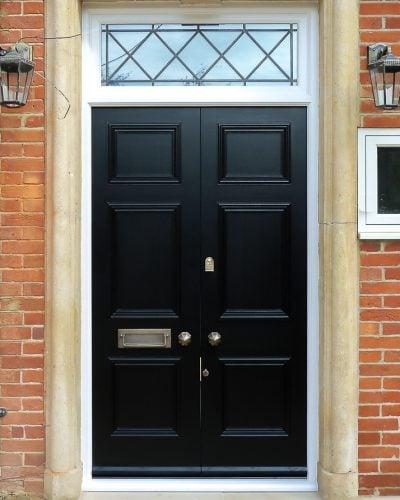 Regency style Georgian double doors