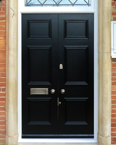 Regency style Georgian double doors