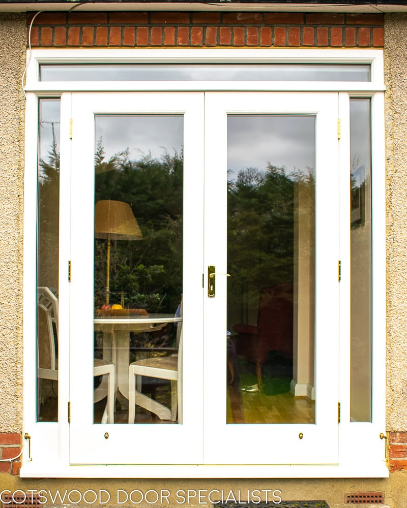 Glazed French Door With Sidelights Cotswood Doors