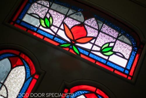 Victorian stained glass design